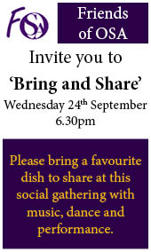 Bring and Share Event Advertisement