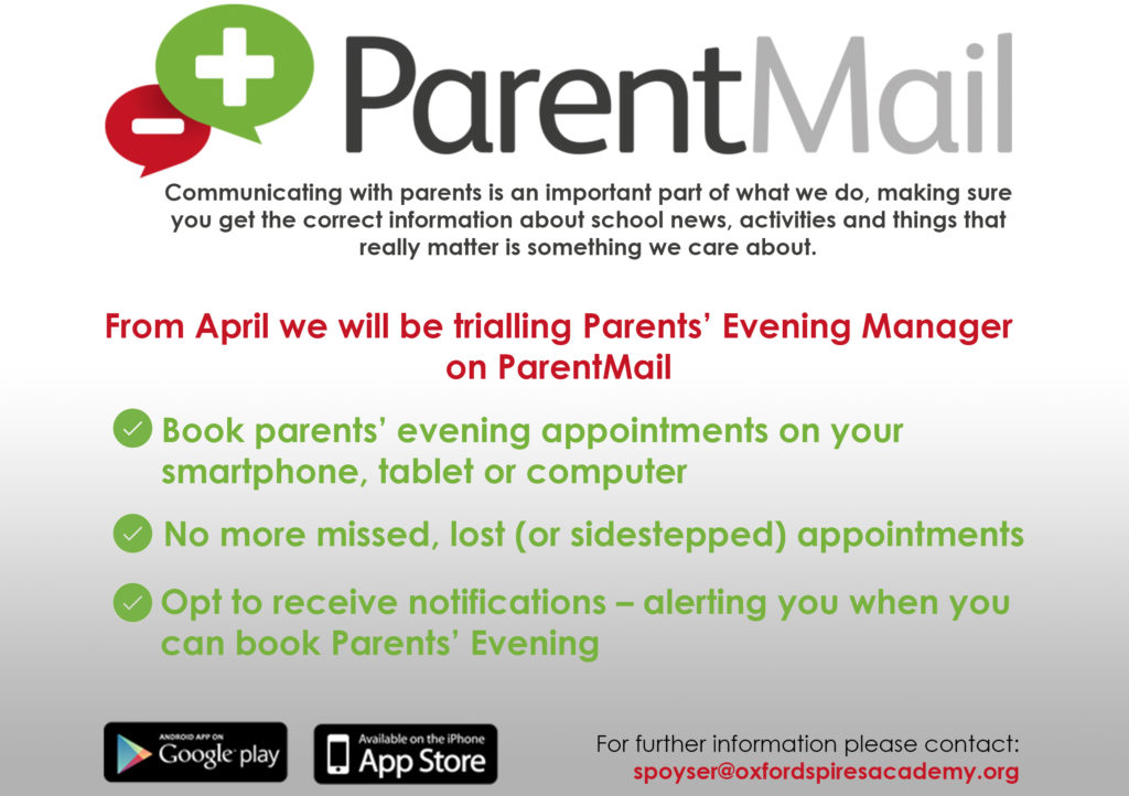Parent Mail App Poster